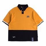 [로맨틱크라운]ROMANTIC CROWN RTW Polo shirt_Mustard 카라티 폴로셔츠