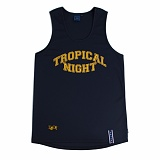 [로맨틱크라운]ROMANTIC CROWN Tropical Night Sleeveless_Navy 나시티 슬리브리스