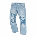 [로맨틱크라운]ROMANTIC CROWN Attach Damage Pants 청바지 데님팬츠