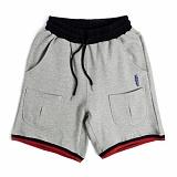 [로맨틱크라운]ROMANTIC CROWN Sweat Banding Shorts_Grey 반바지 밴딩팬츠 숏팬츠