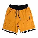 [로맨틱크라운]ROMANTIC CROWN Sweat Banding Shorts_Mustard 반바지 밴딩팬츠 숏팬츠