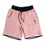 [로맨틱크라운]ROMANTIC CROWN Sweat Banding Shorts_Pink 반바지 밴딩팬츠 숏팬츠
