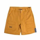 [로맨틱크라운]ROMANTIC CROWN Double pocket shorts_Mustard 버킷햇 벙거지모자