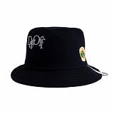 [로맨틱크라운]ROMANTIC CROWN Day off bucket hat_Navy 버킷햇 벙거지모자