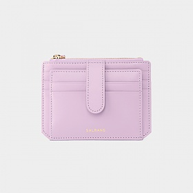 살랑 - Dijon 301S Flap mini Card Wallet lilac blossom 카드지갑