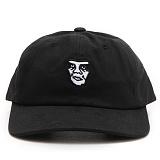 [오베이] OBEY FUBAR 6 PANEL SNAPBACK (BLACK) [100580060-BLK] 모자 볼캡