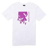 [오베이] OBEY PARTY (WHITE) [163081476-WHT] 반팔티