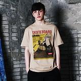 [파이브데크]5U-136 MAGAZINE  반팔 티셔츠