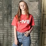 [파이브데크]5U-141 FIVE PINK  반팔 티셔츠