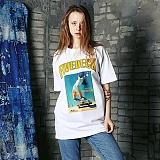 [파이브데크]5U-144 SKY  반팔 티셔츠