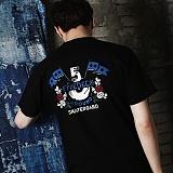 [파이브데크]5U-152 AROUND  반팔 티셔츠