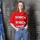 [파이브데크]5U-160 FIVE FOUR  반팔 티셔츠