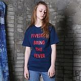 [파이브데크]5U-162 FEVER  반팔 티셔츠