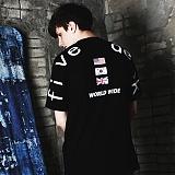 [파이브데크]5U-166 WORLD WIDE KOREA  반팔 티셔츠