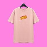 [슈퍼레이티브] superlative - [SST335] FIRE LOGO 반팔 티셔츠 - 반팔 티셔츠 - 핑크