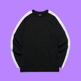 [슈퍼레이티브] superlative - [S] 핫 라인 긴팔 티셔츠 - 긴팔 티셔츠 - 블랙화이트