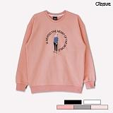 [오리수] ORISUE MTM 3-Luscious 맨투맨 크루넥 3단쭈리 스��셔츠