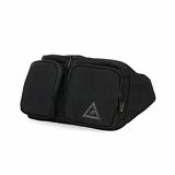 [카고브로스] ROS Waist Bag - Black