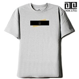 [DISCENE]디씬 TWO BAR MODERN 루즈핏 반팔 티셔츠 - GRAY