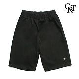 [코로츠] Crotts Double Cotton Shorts (Black) 면반바지 숏팬츠