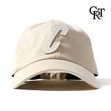 [코로츠] Crotts Big C Ball Cap (Beige) 볼캡 야구모자