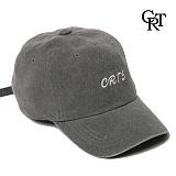 [코로츠] Crotts Denim Logo Ball Cap (Black) 볼캡 야구모자