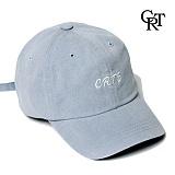 [코로츠] Crotts Denim Logo Ball Cap (Sky) 볼캡 야구모자
