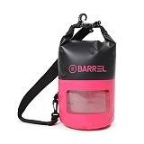 [배럴]BARREL - 투톤 드라이 백 10L 핑크/블랙 (BW7BDBA001PKB10L)