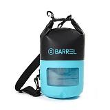 [배럴]BARREL - 투톤 드라이 백 10L 스카이 블루/블랙 (BW7BDBA001SBA10L)