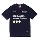 [앱놀머씽] 161 Street T-Shirt (Navy) 반팔티셔츠