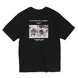 [앱놀머씽] Barcelona T-Shirt (Black) 반팔티셔츠