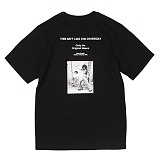 [앱놀머씽] Golden Era T-Shirt (Black) 반팔티셔츠