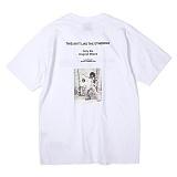 [앱놀머씽] Golden Era T-Shirt (White) 반팔티셔츠