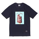 [앱놀머씽] Ice Cream T-Shirt (Navy) 반팔티셔츠