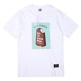 [앱놀머씽] Ice Cream T-Shirt (White) 반팔티셔츠