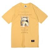 [앱놀머씽] Local Surfing T-Shirt (Yellow) 반팔티셔츠