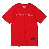 [앱놀머씽] Muscovy T-Shirt (Red) 반팔티셔츠