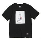 [앱놀머씽] Pushoff T-Shirt (Black) 반팔티셔츠