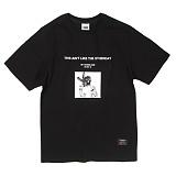 [앱놀머씽] Revolver T-Shirt (Black) 반팔티셔츠
