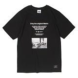 [앱놀머씽] Sometimes T-Shirt (Black) 반팔티셔츠