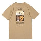 [앱놀머씽] Surf T-Shirt (Beige) 반팔티셔츠