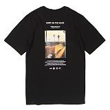 [앱놀머씽] Surf T-Shirt (Black) 반팔티셔츠