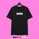 [superlative] 슈퍼레이티브 [SST150] 네임로고 반팔 티셔츠 - 반팔 티셔츠 - 8컬러