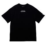 [블랙후디]BLACKHOODY LINE LOGO TOUR 1/2 TEE BLACK 반팔티 티셔츠
