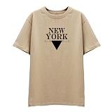 [DISCENE]디씬 뉴욕1407 반팔 티셔츠_베이지