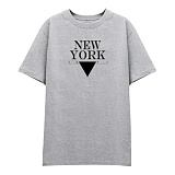 [DISCENE]디씬 뉴욕1407 반팔 티셔츠_그레이