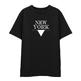 [DISCENE]디씬 뉴욕1407 반팔 티셔츠_블랙