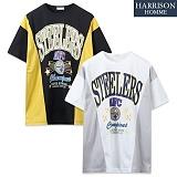 [해리슨] 스틸러스 라운드 반팔 티셔츠 NWS1082