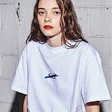 [어나더프레임] ANOTHER FRAME - BIG LOGO T-SHIRT (WHITE) 반팔 반팔티 티셔츠