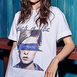 [어나더프레임] ANOTHER FRAME - BIG FACE AF T-SHIRT (WHITE) 반팔 반팔티 티셔츠